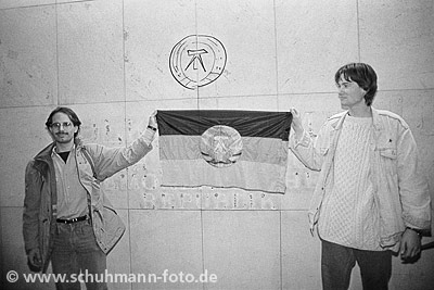 Berlin, Palast der Republik, 02.10.1990 (2)